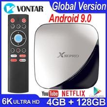 TV BOX Android 9.0 Smart TV BOX X88 Pro 4 go de RAM 32 go/64 go/128 go ROM Android TV Box 4K 60fps RK3318 TVBOX Google Netflix Youtube