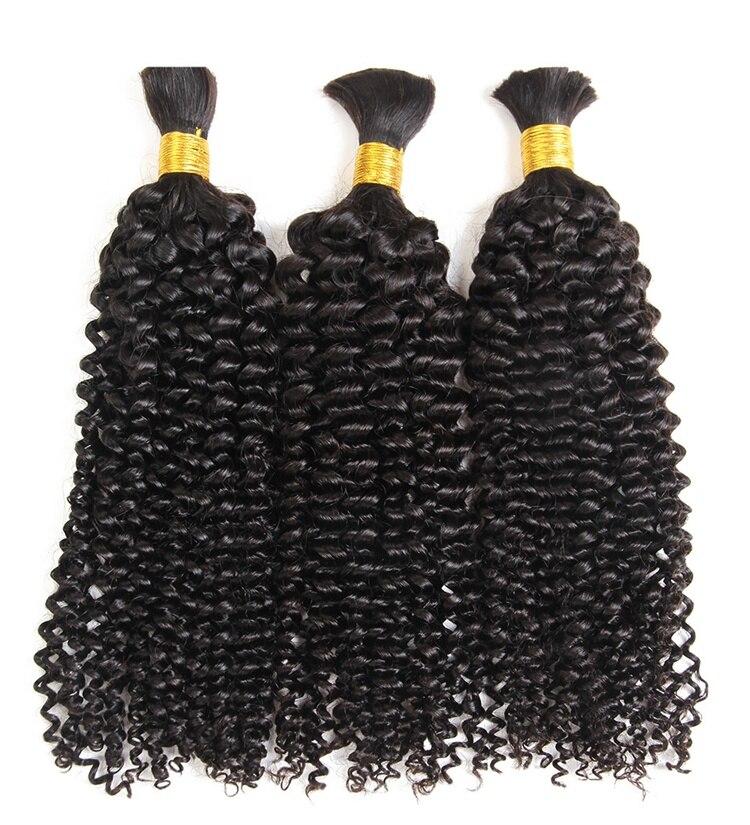 Длинные кудрявые человеческие волосы, оптом для плетения кос, монгольские неповрежденные волосы, плетение без уточных кудрявых косичек, пу...