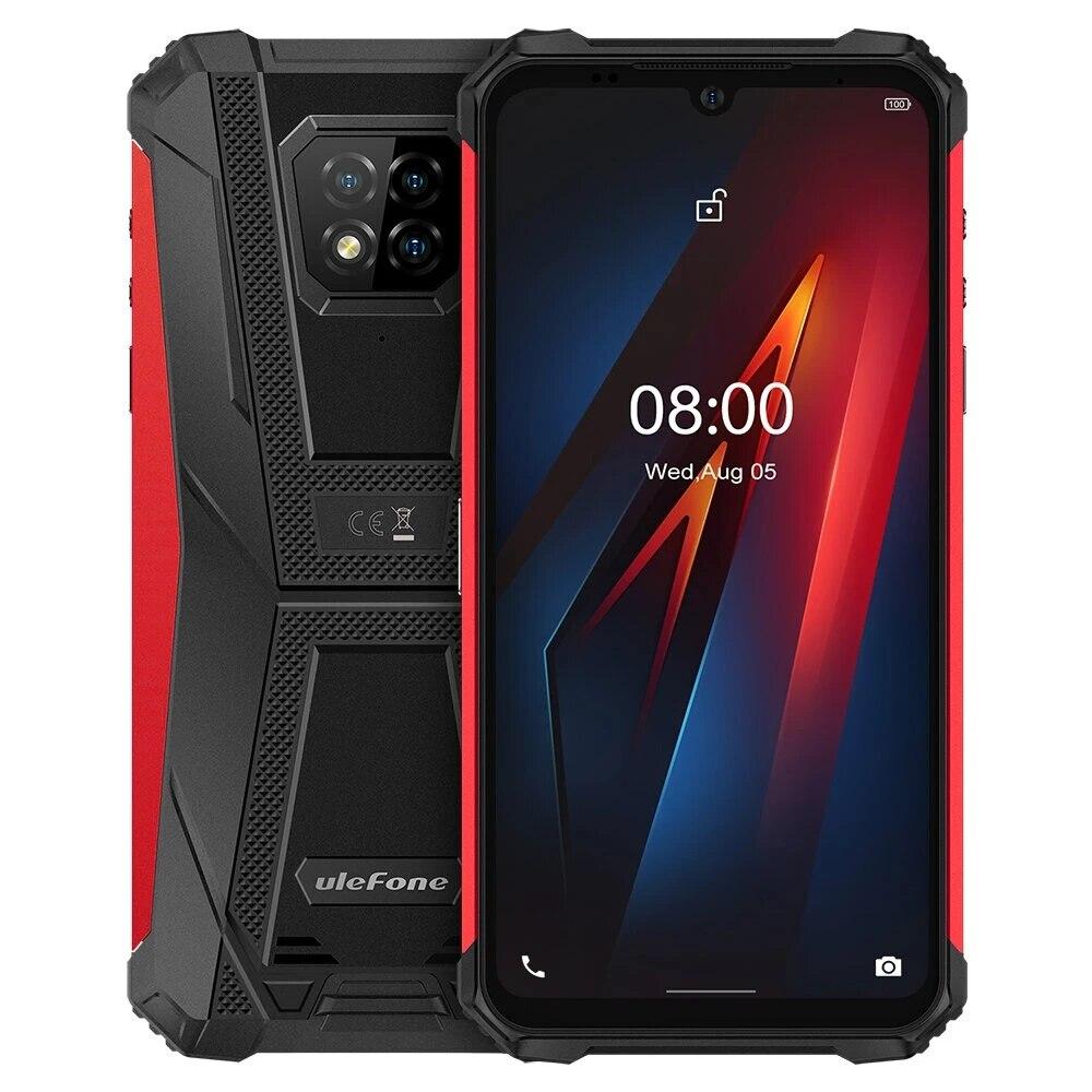 Перейти на Алиэкспресс и купить Ulefone Armor 8 IP68 IP69K водонепроницаемый 6,1 дюйма 4 Гб 64 Гб 16 МП Тройная задняя камера NFC 5580 мАч Helio P60 Восьмиядерный прочный смартфон