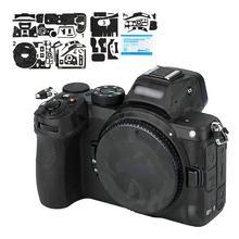 Анти износ стикер для камеры для Nikon Z5 анти слайд камера пленка Комплект Защита от царапин украшение тени черный