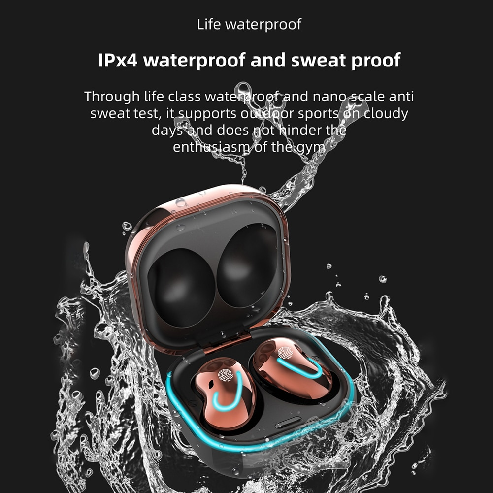 S6 Sports Fitness Wireless Headsets Stereo TWS Stereo Earbuds Bluetooth Wireless Earphones with Charging Case Microphone enlarge