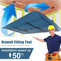 drywall fitting tool plasterboard fixing tool room ceiling sloped walls decoration carpenter tool ceiling positioning plate
