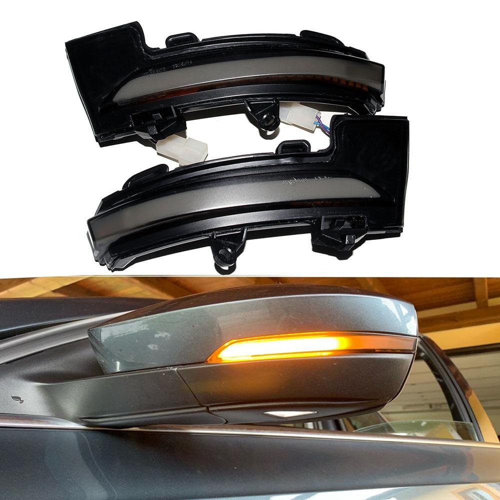 LED Side Asa Espelho Retrovisor Indicador Blinker Repetidor Mk3 5E Dinâmico Por Sua Vez a Luz do Sinal Para Skoda Octavia 2013-2017 & 2018