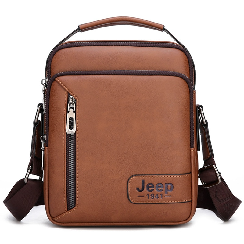 New Brand Men's Messenger Bags Leather Shoulder Bag Vintage Men Handbag Business Bag For Men Daily Man Handbags Bolsa Sac A Main