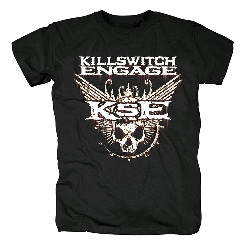 Camiseta de los hombres camisa de manga corta de compromiso Killswitch Rock...