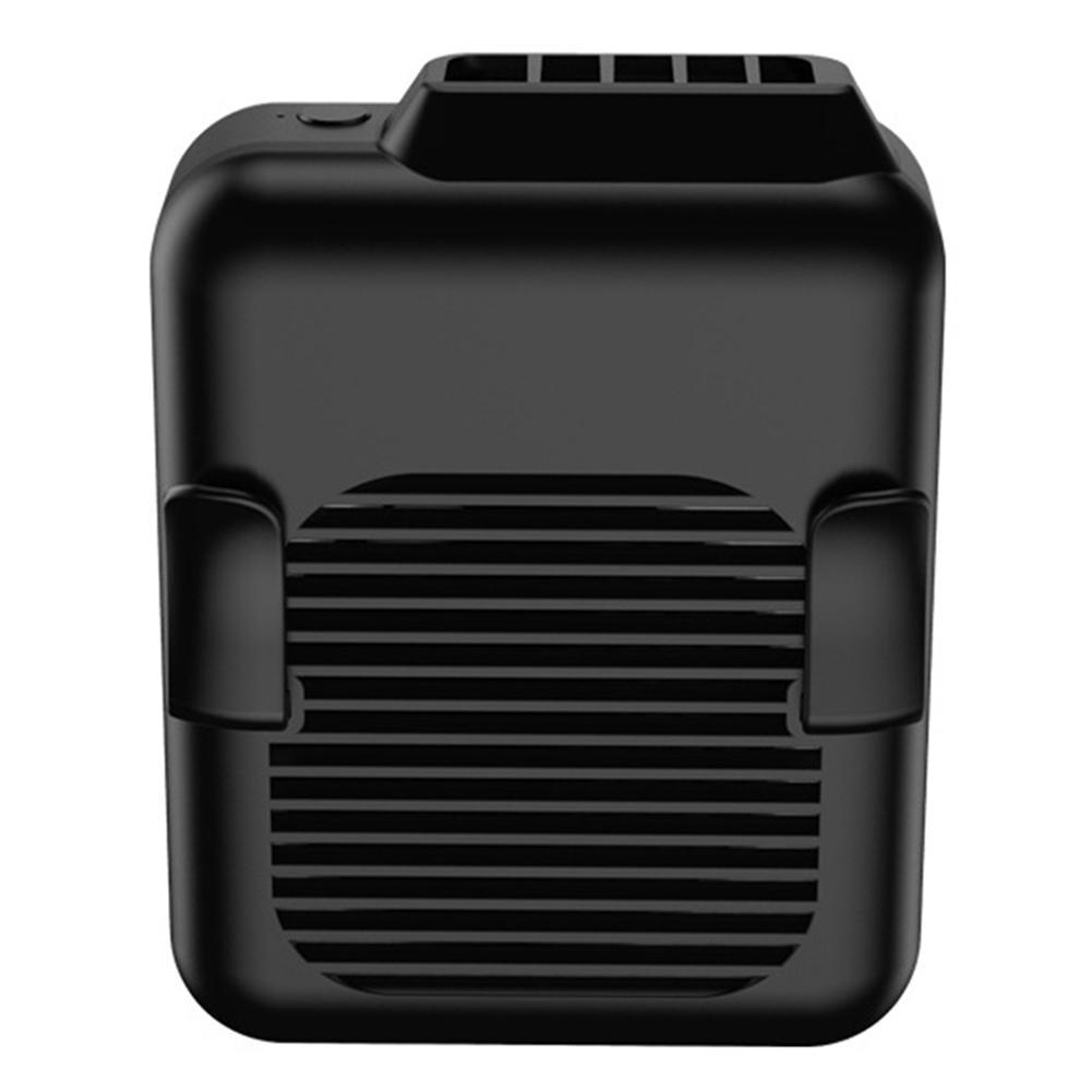 Wentylator talii, przenośny zestaw głośnomówiący wentylator USB lato przenośne Mini USB 3 biegi ze sznurkiem do zawieszenia klips na pasku wentylator chłodzący