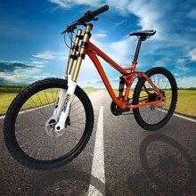 Kalosse-vélo vélo suspension complète, axe baril en alliage 6061, 20x110mm, M610, 30 vitesses, pneus AM/XC 26x2.35, VTT