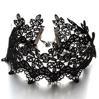 women lace choker butterfly gothic woman collar party jewelry neck accessories chokers chain necklace clavicle necklace
