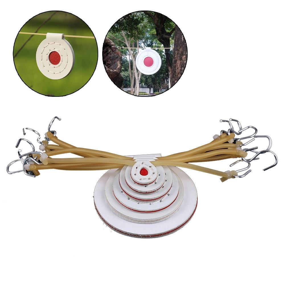 6 шт. волоконная мишень Пиннер мишень для тренировки пейнтбола мишень 6 размеров Пейнтбол Рогатка мишень охотничье оборудование