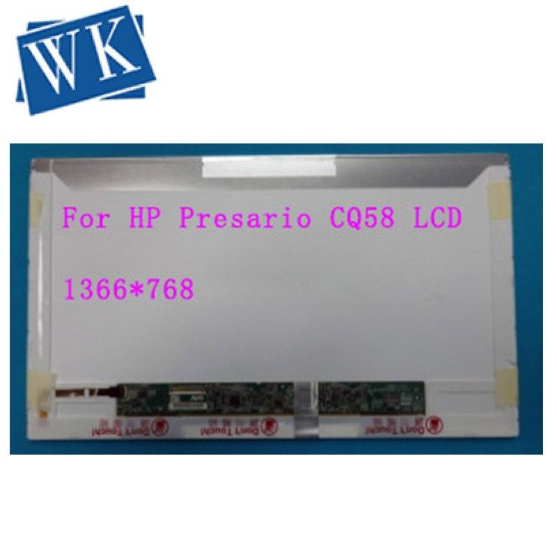"15.6"" HD Laptop LCD Screen For HP/COMPAQ Presario CQ58 CQ61 CQ56 LED Display Panel"