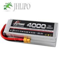 JH Lipo-батарея 4000mAh 75C/225C 2S 7,4 V 3S 11,1 V 4S 14,8 V 5S 18,5 V 6S 22,2 V Высокая скорость литий-полимерные батареи для RC лодки автомобиля