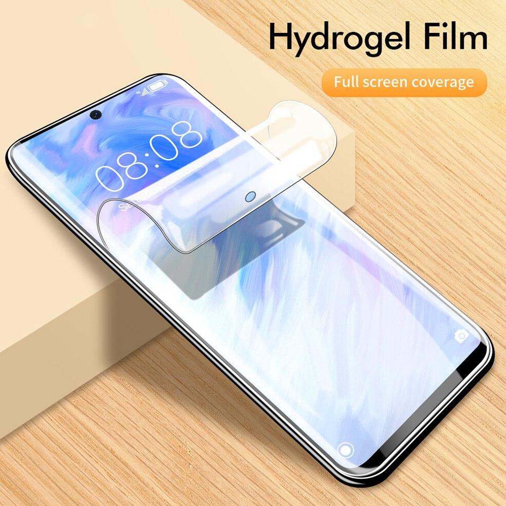 Película de hidrogel 20D para Samsung Galaxy S20 Ultra S 20 Plus Protector de pantalla para Samsung Note 10 Plus S10E S10 Plus película, no cristal