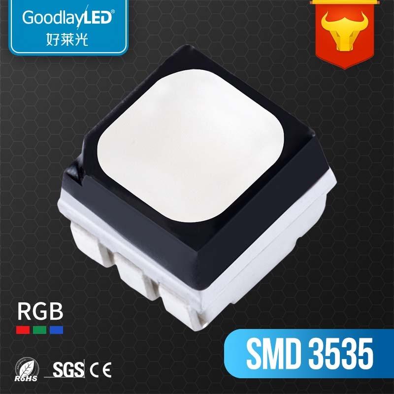 1000 Uds., LUXEON SMD 3535 LED de alto flujo, Taiwán o ee.uu., chip Ra70, diodo RGB