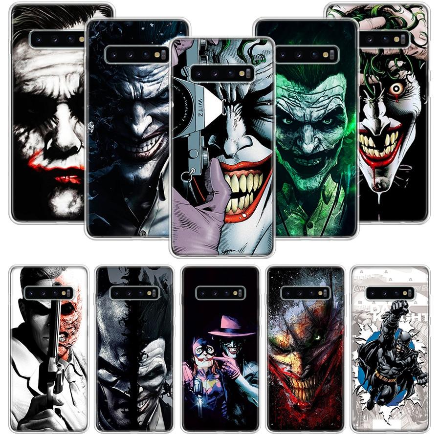 Dc Batman Dark Knight Joker Karta Case for Samsung Galaxy A51 A71 A50S A10 A20E A30 A40 A70S A90 M30S A01 A21 A6 A7 A8 A9 Plus +