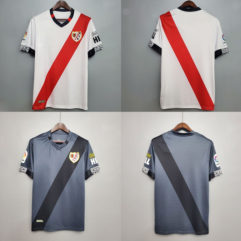 2021New llegó para Rayo Vallecano De fútbol jersey Camisa camisas 20 21...