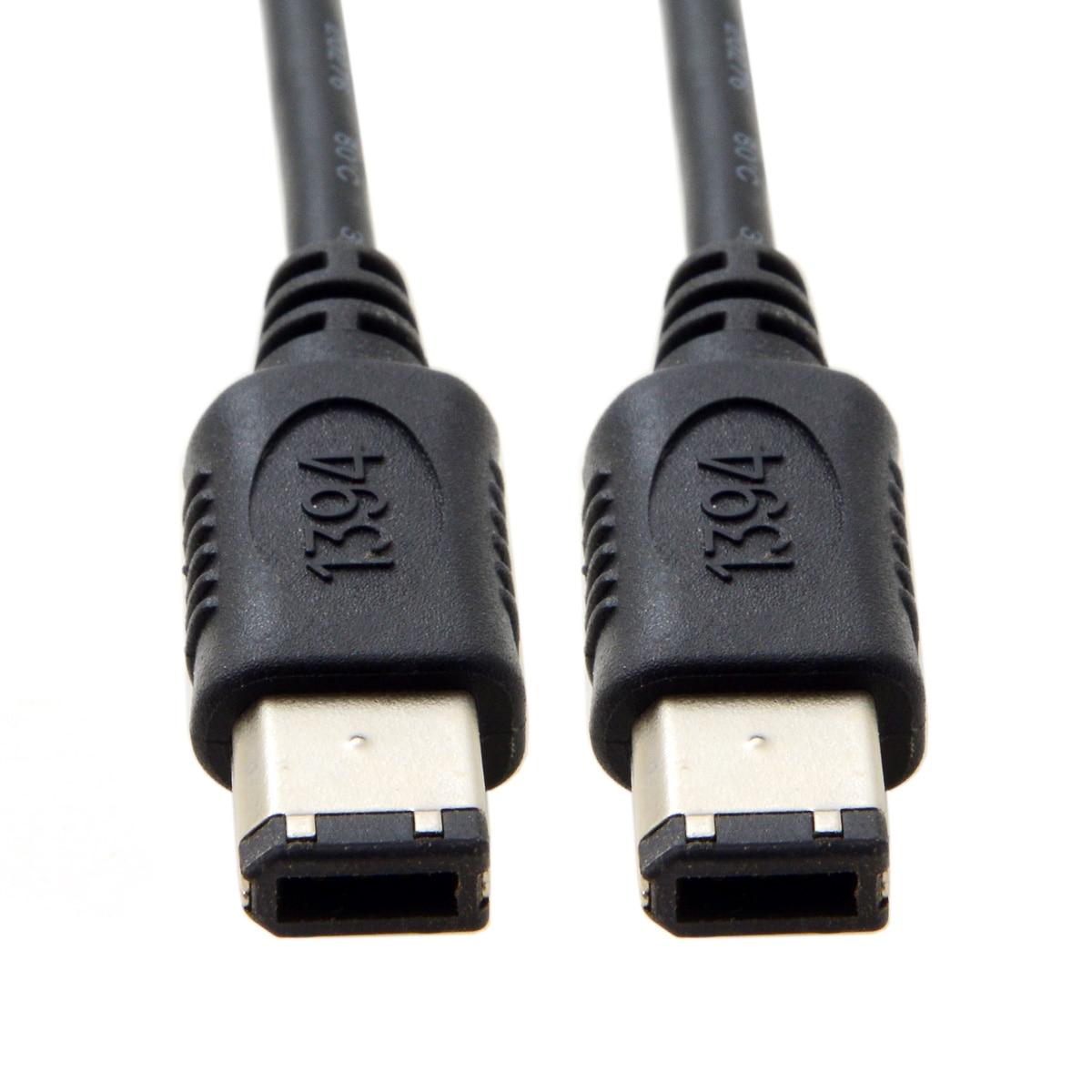 Xiwai Firewire-Cable rápido DV iLink 400 IEEE 1394, 6 pines, macho a...
