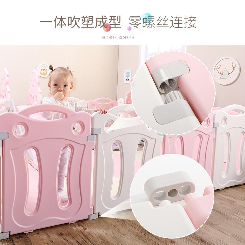 Children Indoor Gaming Fence Baby Household Amusement Park Crawl Pad Infant Safe Learner Fence Protection Toy enlarge