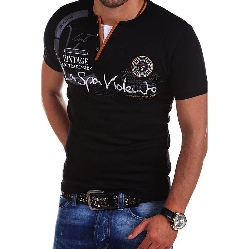 Camiseta de manga corta con personalidad para hombre, diseño creativo Simple, novedad,...