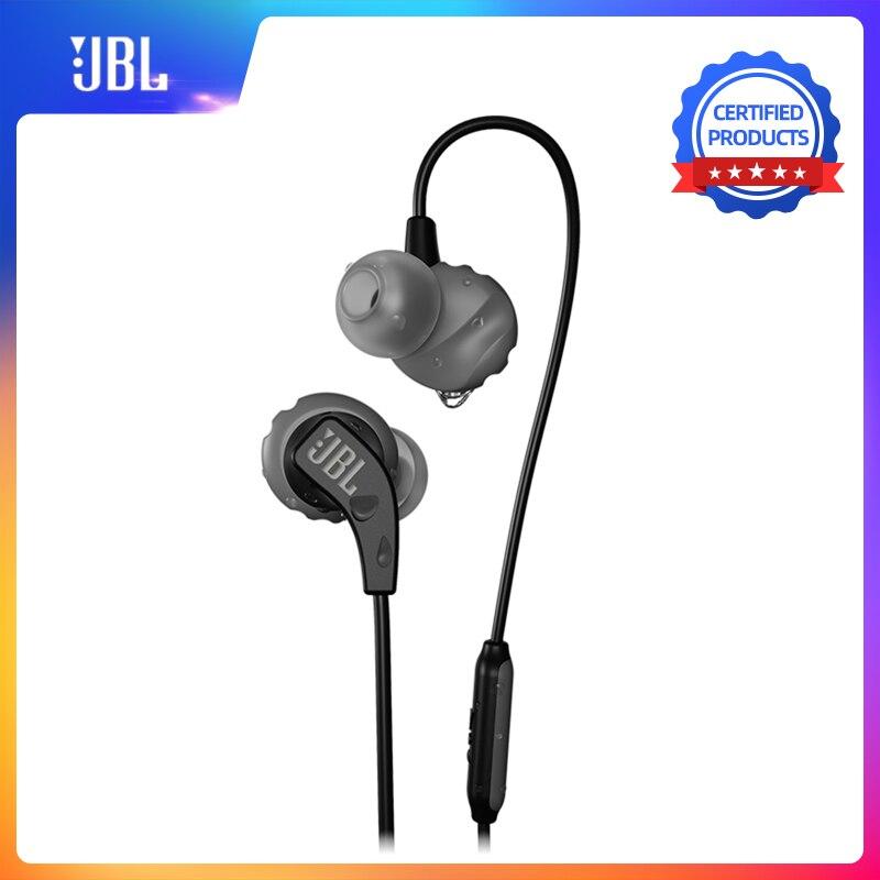 Jbl endurance run wired fone de ouvido in-line controle sweatproof jbl fone de ouvido com microfone portátil magnético fone de ouvido