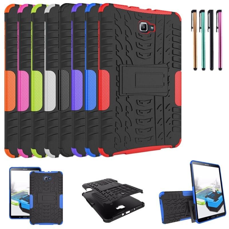 para Samsung Galaxy Capa + Caneta Tab a 10.1 Tpu + Escudo do Computador à Prova de Choque 2021 T515 T510 Case sm T580 T585 Capa Suporte Tab a7 10.4 Sm-t500 –