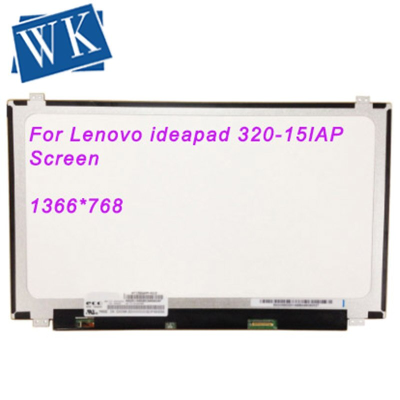 1366X768 para Lenovo ideapad 320-15IAP pantalla 320-15IAP pantalla LED para Lenovo 320 80XR matriz portátil LCD Monitor 30 pines
