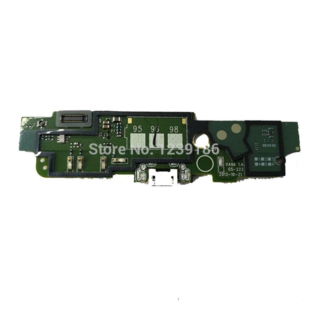 Para Nokia Lumia 1320 muelle de carga USB con micrófono enchufe del...