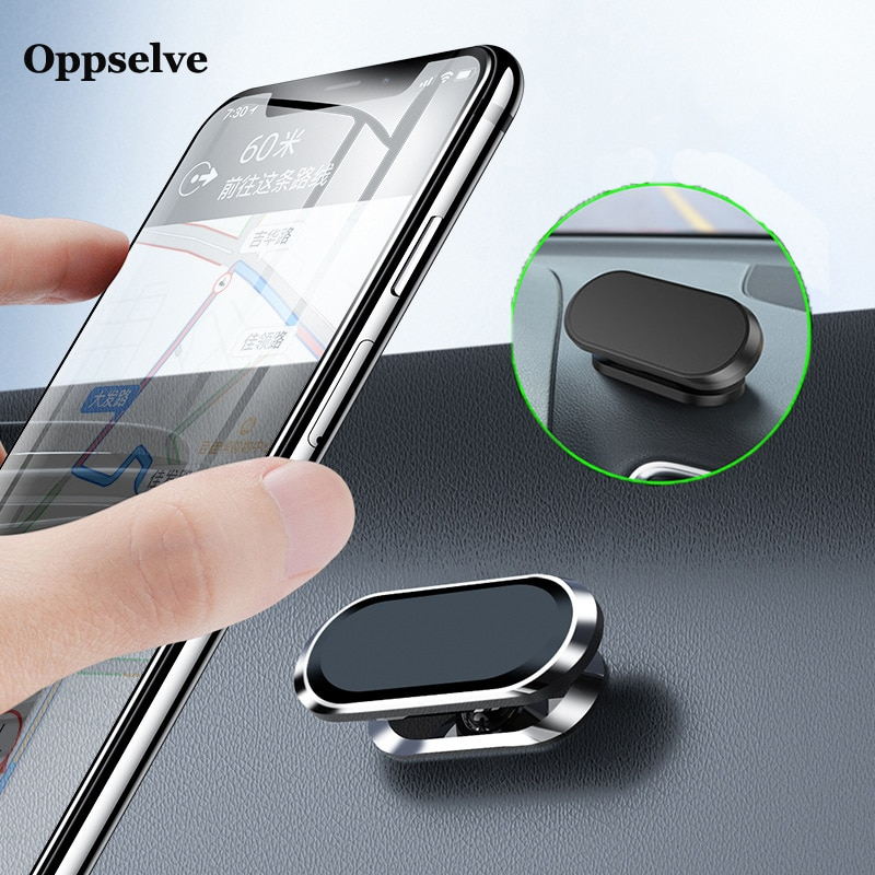 aliexpress.com - Oppselve Magnetic Car Phone Holder Mini Strip Shape Stand For iPhone 13 12 11 Samsung Xiaomi Huawei Metal Magnet GPS Car Mount