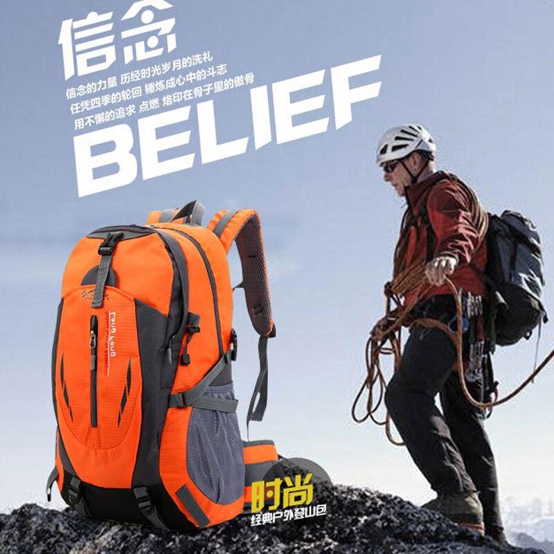 Вместительная сумка для альпинизма 2021, спортивный и удобный дорожный рюкзак, мужской рюкзак, водонепроницаемая походная сумка для активног...