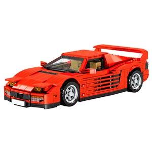 933 Pcs Bricks Racing Car Technic City Creator Model Building Blocks Boy Birthday Christmas Gifts Kids Present Toy For Children