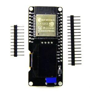 Development Board Module For Arduino Wemos D1 STA 0.96 '' OLED Screen 2.4GHz WiFi Wireless Dual Mode ESP32 ESP-WROOM-32