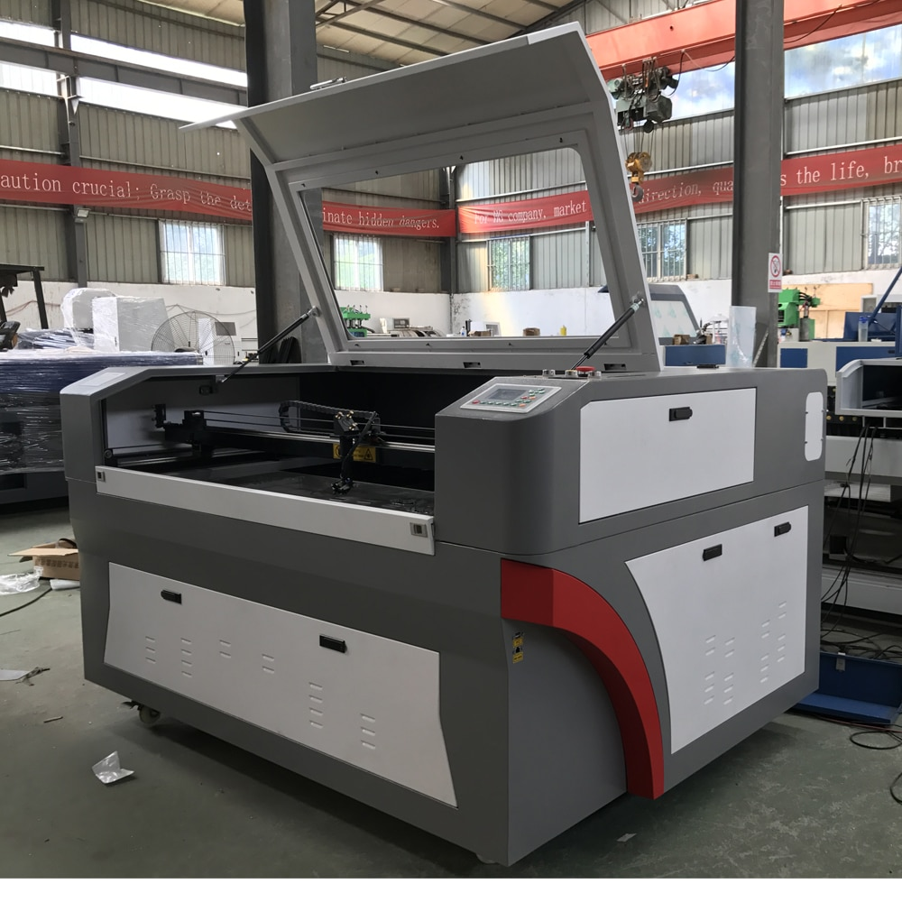 1390 cortadora láser grabador Co2 máquina de grabado láser de corte Reci 100W 130W madera mdf acrílica pintura Metal CNC cortador láser