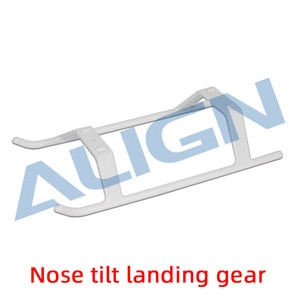 Align Trex 470L Landing Skid H47F001XXW Trex 470 Spare Parts helicopter Nose tilt landing gear For alzrc tarot gartt 450 450L