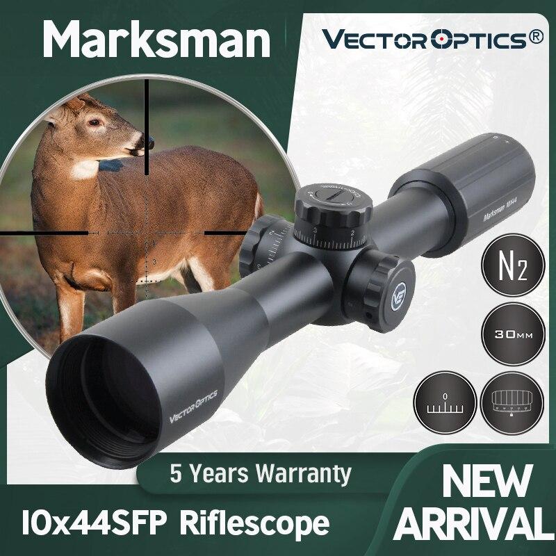ناقلات البصريات رامي 10x44 بندقية نطاق الصيد Riflescope التكتيكية التركيز 10 ياردة 1/10 مليون يناسب الأسلحة النارية الحقيقية. 308win و أيرغون