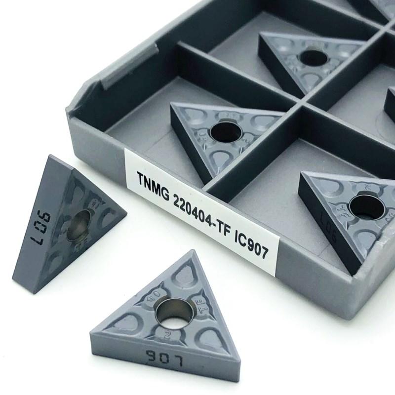 Turning Inserts TNMG220408 TF IC907/IC908 external turning tool carbide insert CNC lathe TNMG 220408 cutting tools tnmg220408 nn lt10 carbide inserts external turning tool tnmg 220408 hard alloy metal lathe tools cnc machine turning insert