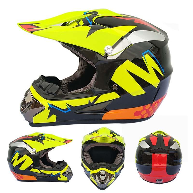 Casco De Motocross todoterreno profesional ATV Cross cascos integrales MTB DH Racing...