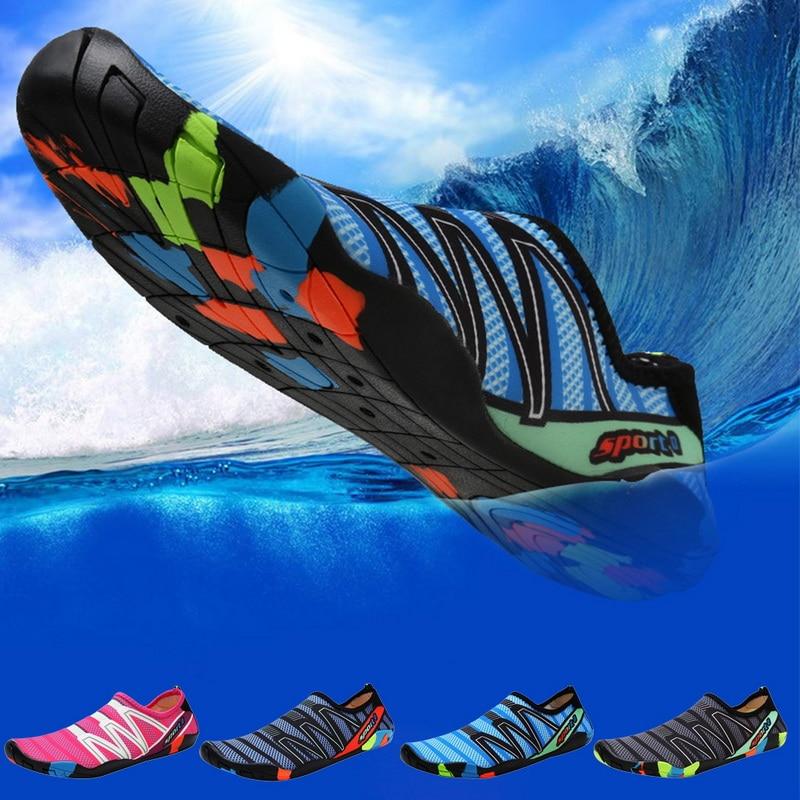 Sfit Unisex zapatos de agua de playa de secado rápido zapatos de agua de playa zapatillas de Surf aguas arriba