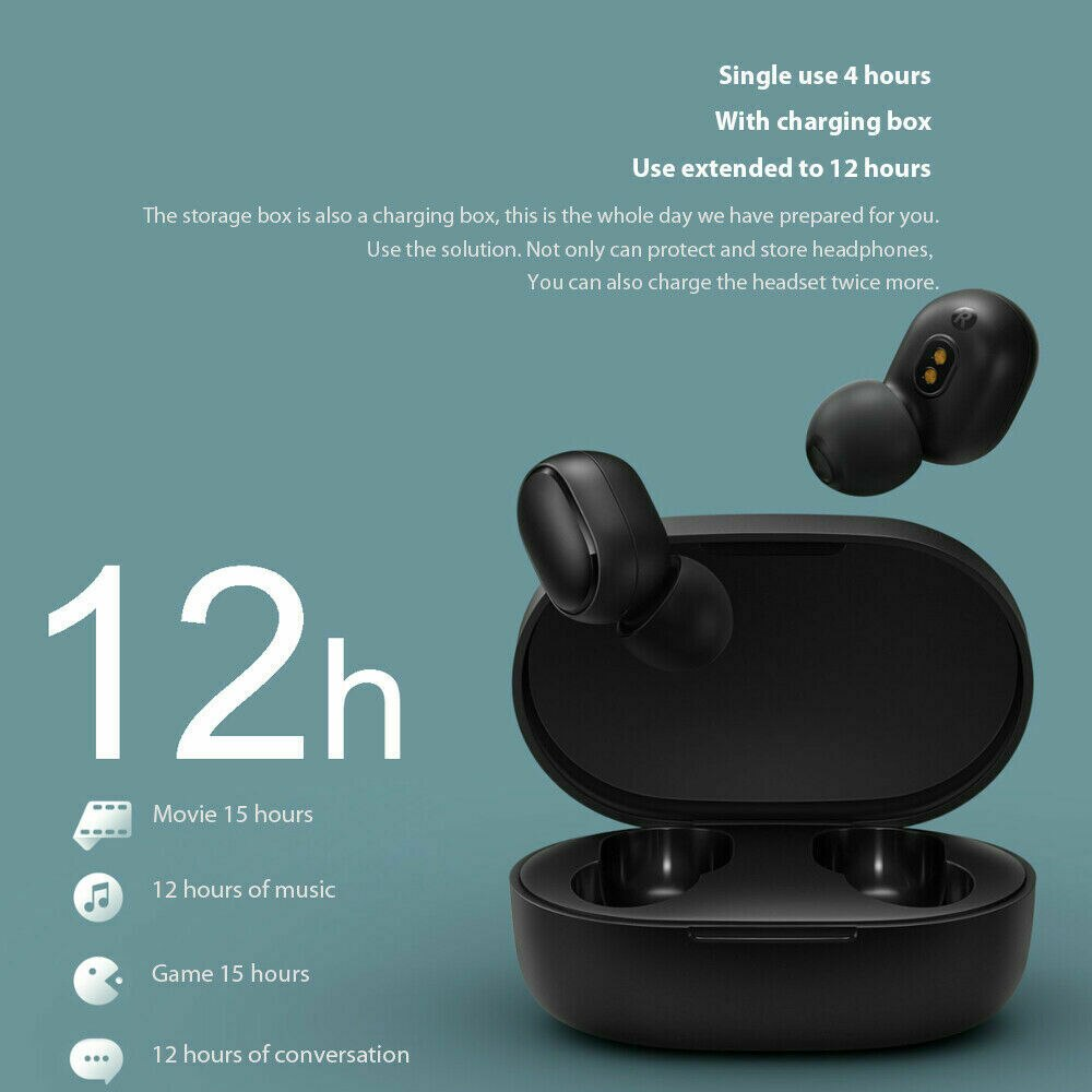 5.0 Earphone A6S TWS Bluetooth Wireless Headphone Stereo Headset sport Earbuds microphone with charging box for smartphone enlarge