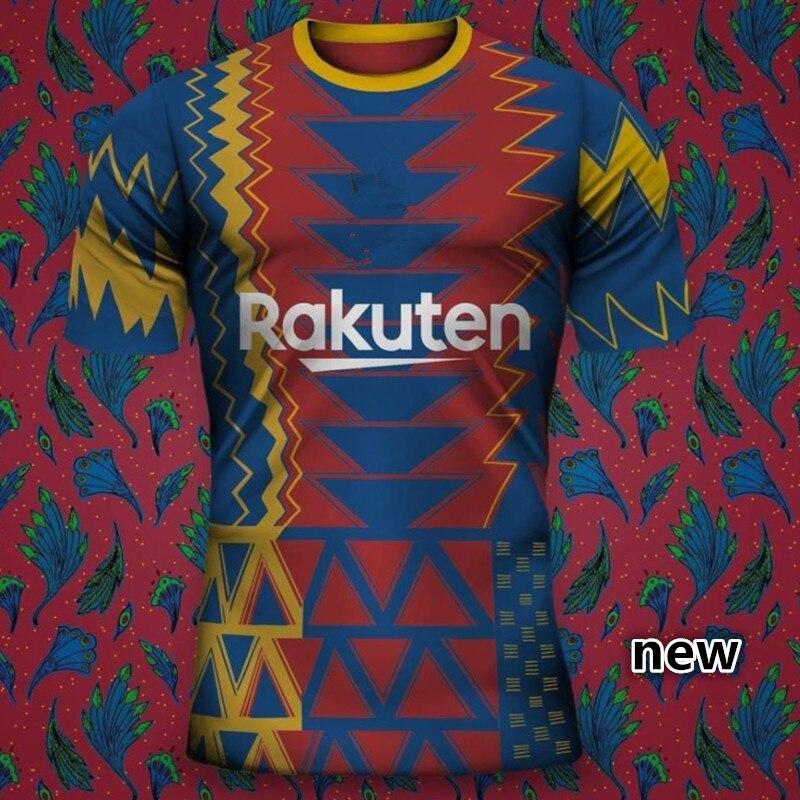 2021 nuevo 2022 OUTINHO BarcelonaES camisa SUAREZ PIQUE O DEMBELE-camisa ANSU FATI...