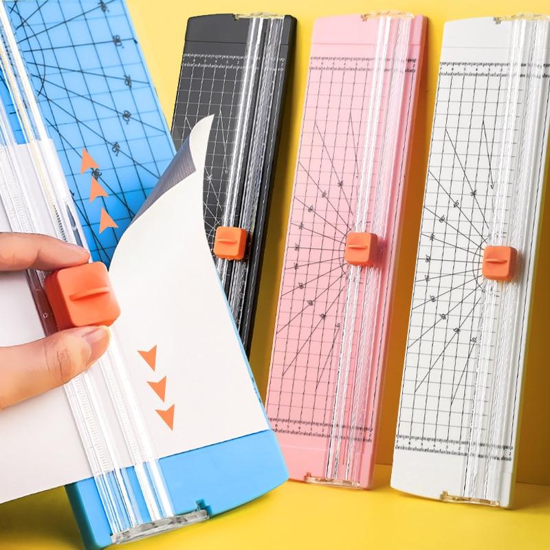 Small paper cutter A4 portable paper cutter cut manual cut photo paper envelope cut stationery student art supplies