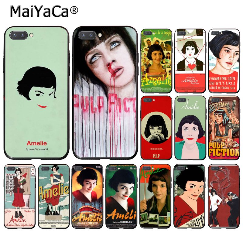MaiYaCa Amelie clásico cartel Francia película funda del teléfono para Huawei Honor 8X 9 10 20 Lite 7A 5A 7C 10i 8C 7A 9XPro