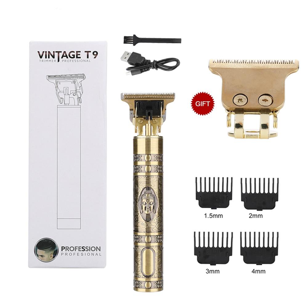 T9 Hair Clipper Rechargeable Hair Clipper Razor Men's Grooming Tool Cordless Razor...