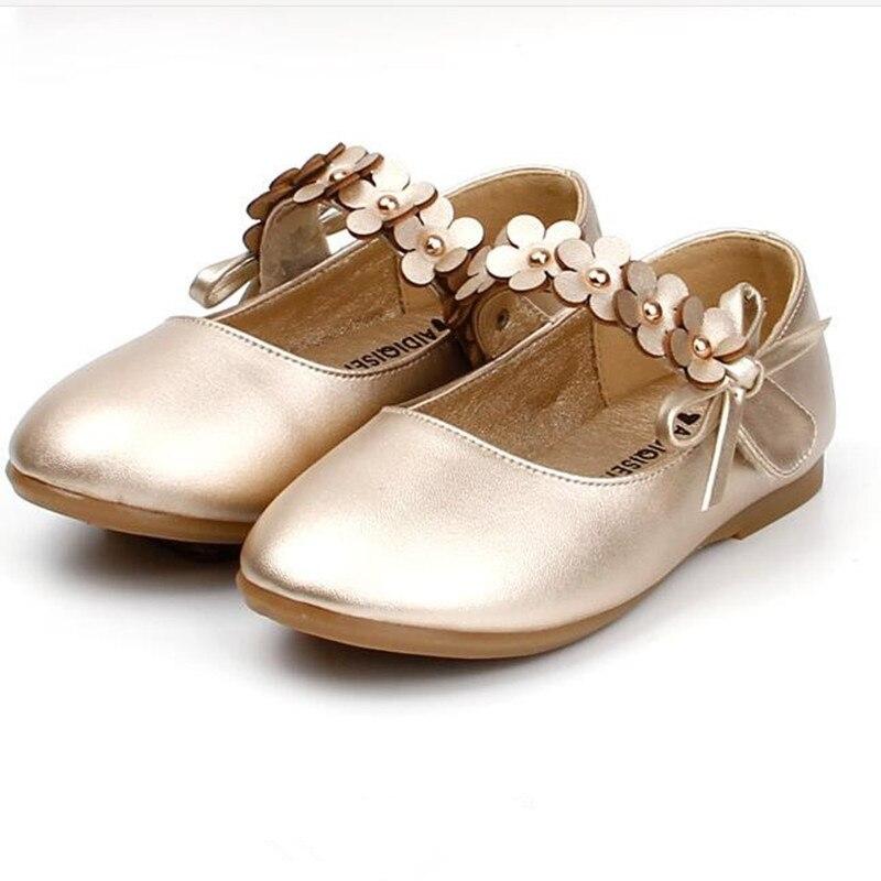 Кожаные туфли для маленьких девочек, золотые, красные, черные, белые детские туфли принцессы для коктейльной вечеринки, свадебные туфли для ...