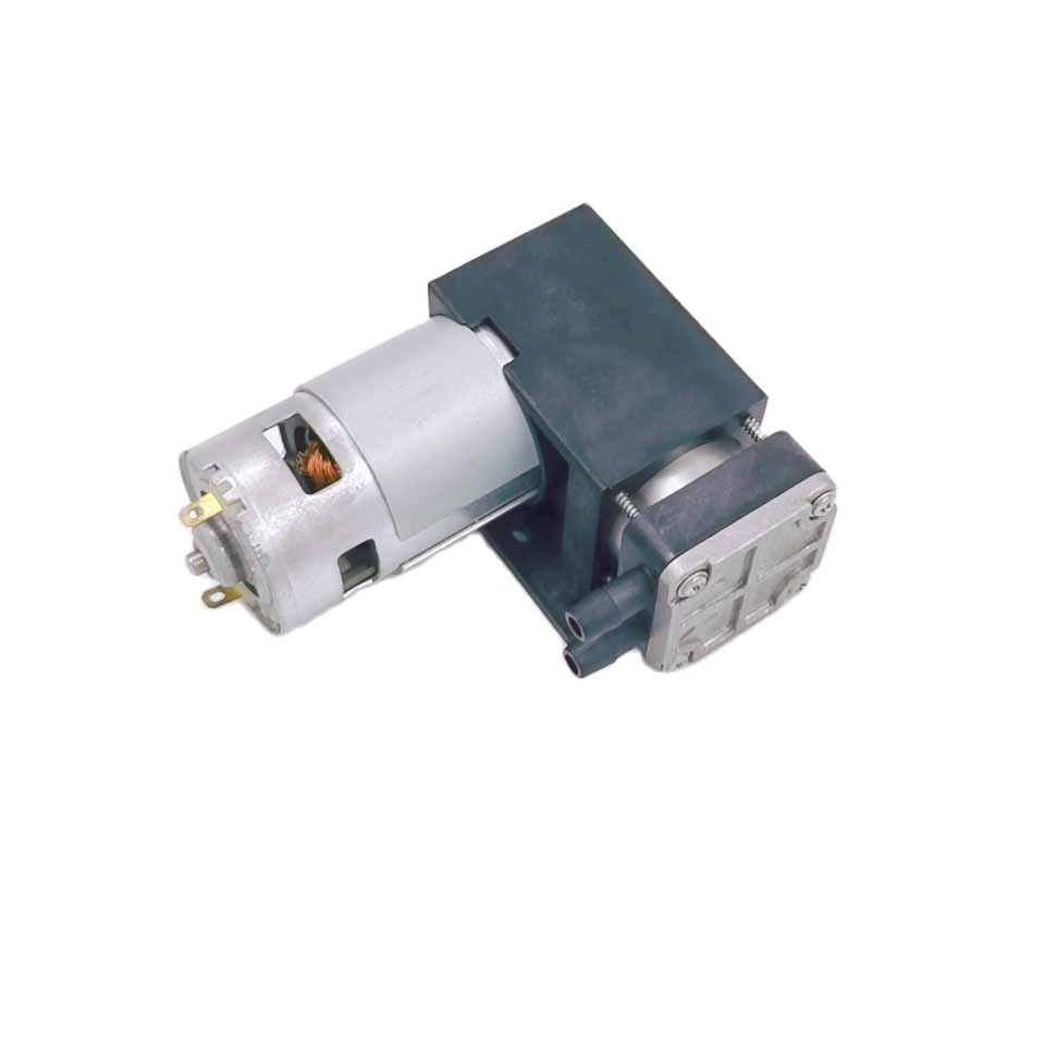 -90Kpa فراغ 25L/M تدفق 500Kpa ضغط جديد المنتجات dc مكبس كهربائي مصغرة oilless 12v مصغرة ضاغط