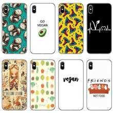 Вегетарианские котировки, аксессуары, чехол для телефона iPhone 12 Mini 11 Pro Max XS Max XR X 8 7 Plus 6 6S Plus 5 5S SE 2020