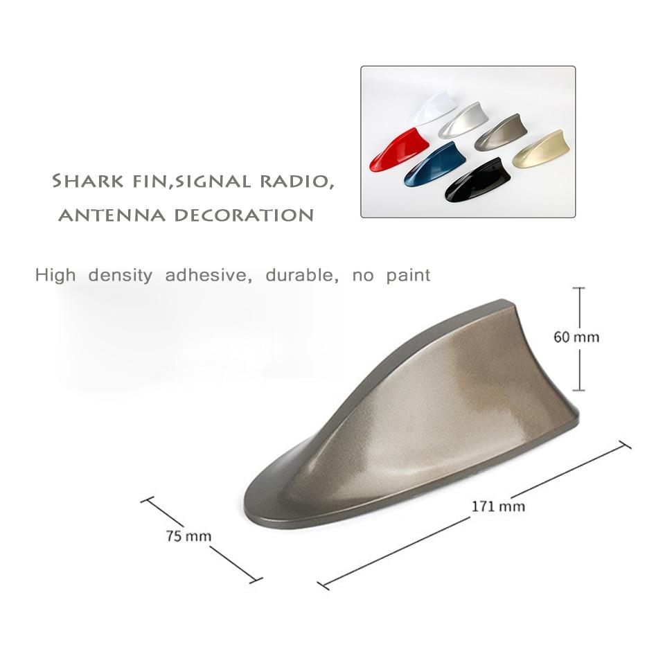Antena de señal tipo aleta de tiburón para radio de coche para Ford Focus 2 3, Fiesta, Mondeo Kuga, Citroen C4, C5, C3, Skoda, Octavia 2, A7, A5, Fabia rápida