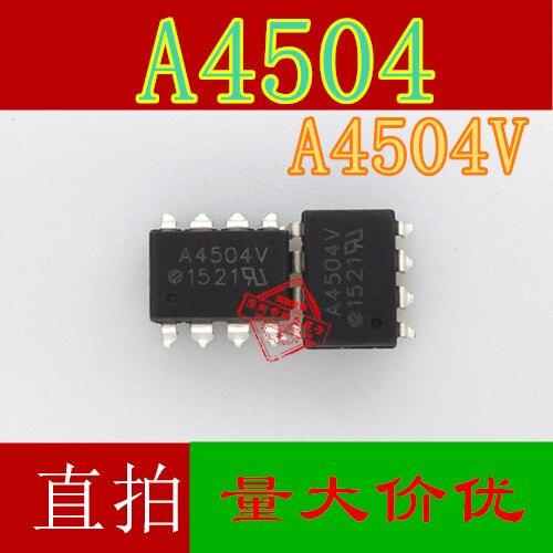 10pcs HCPL-4504 SOP-8 A4504V A4504