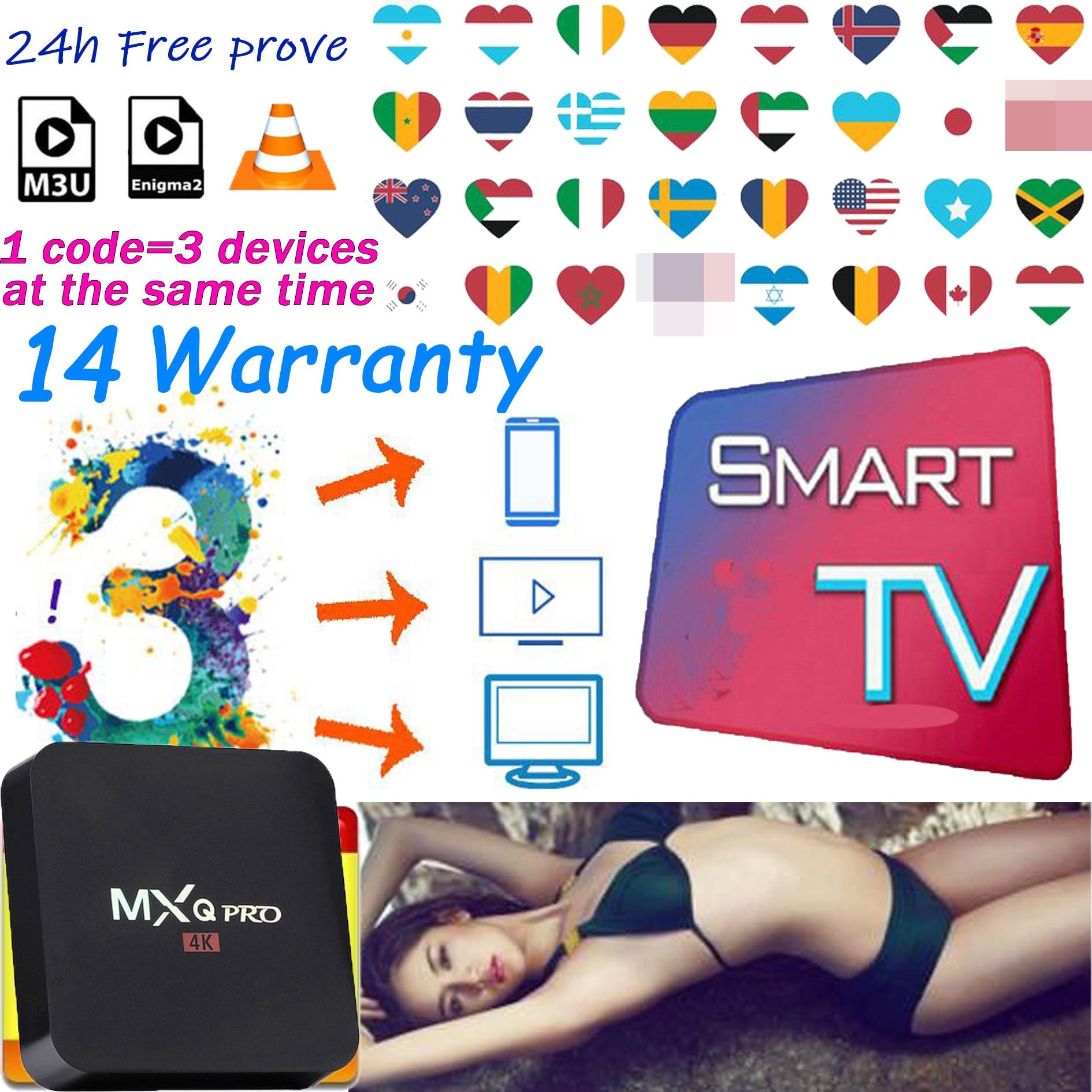 TV box Europa 14 garantía IPTV para España Suecia Portugal italia EE. UU. Reino Unido xxx IPTV holandés Polonia árabe Albania Turquía M3U No incluye la aplicación