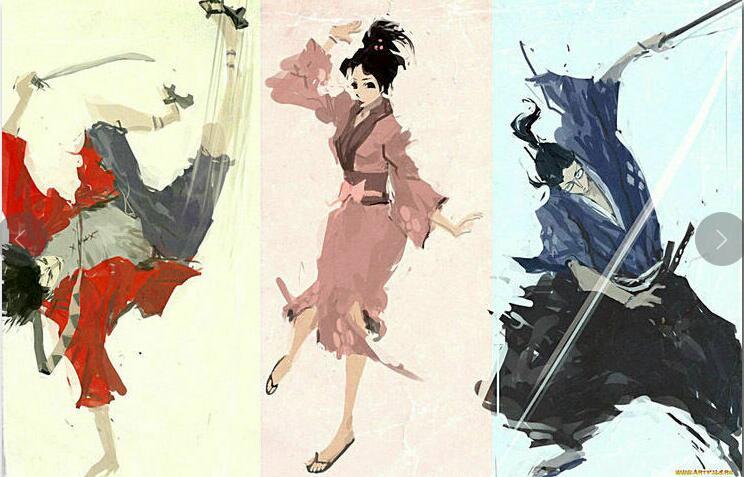 Samurai Champloo Japanese Anime Manglobe Art Film Print Silk Poster Home Wall Decor 24x36inch