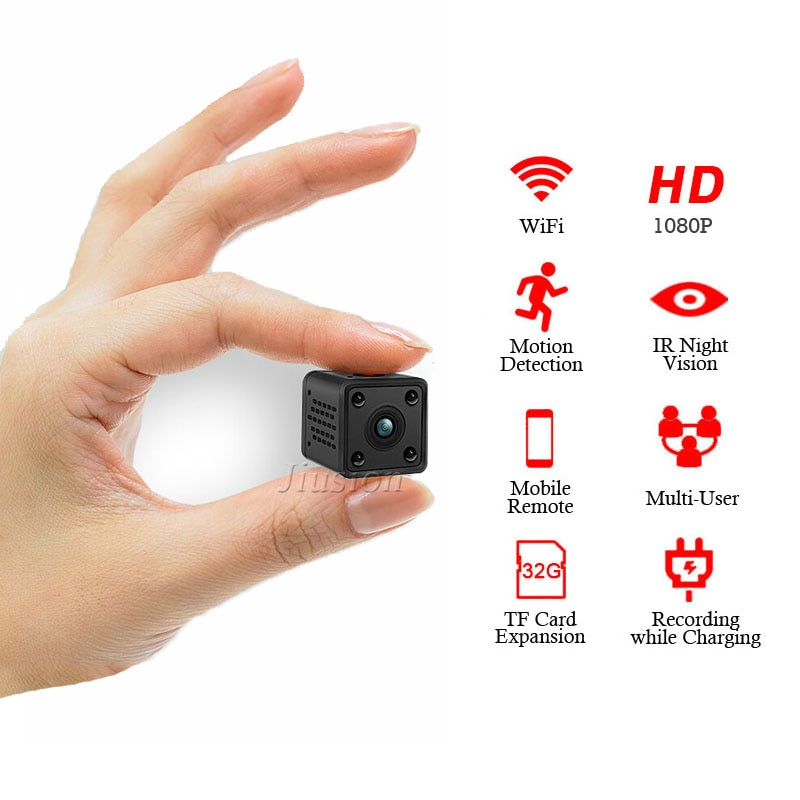 WiFi Mini cámara DVR HD DV Camaras Espia Oculta 1080P inalámbrico IR...