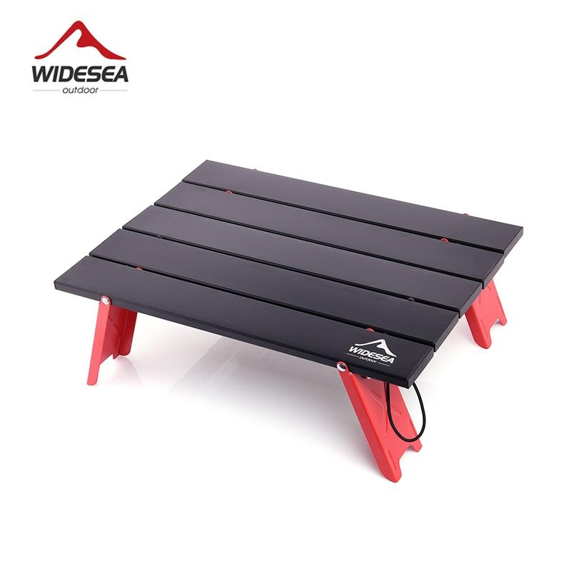 Widesea-mesa plegable portátil para pícnic al aire libre, minimesa plegable ultraligera para...